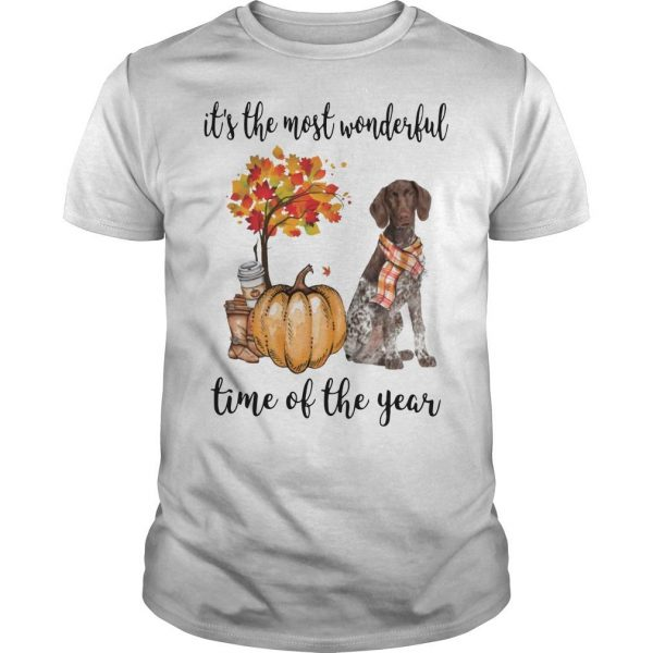 German Shorthaired Pointer It's The Most Wonderful Time Of The Year Shirt