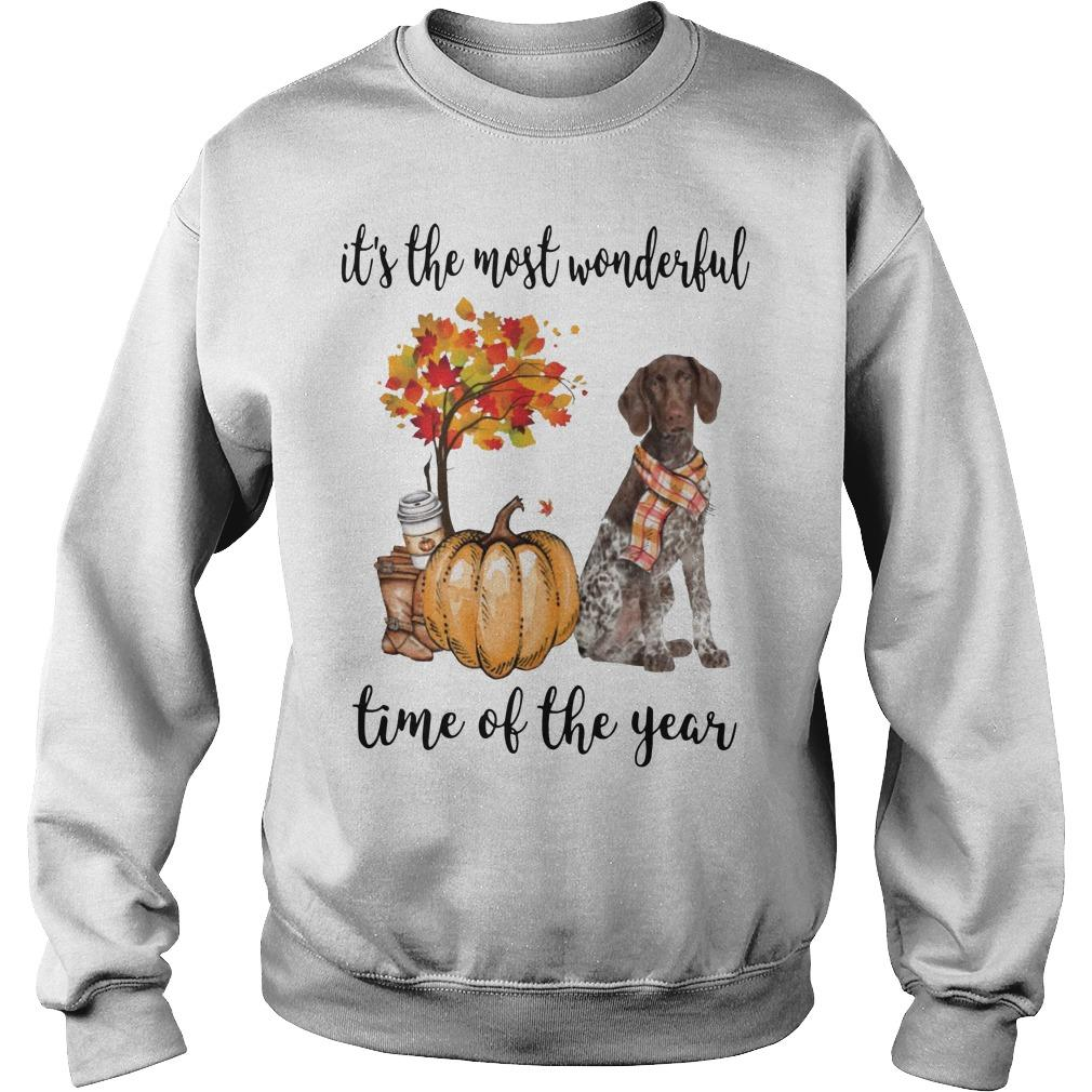 German Shorthaired Pointer It's The Most Wonderful Time Of The Year Sweater