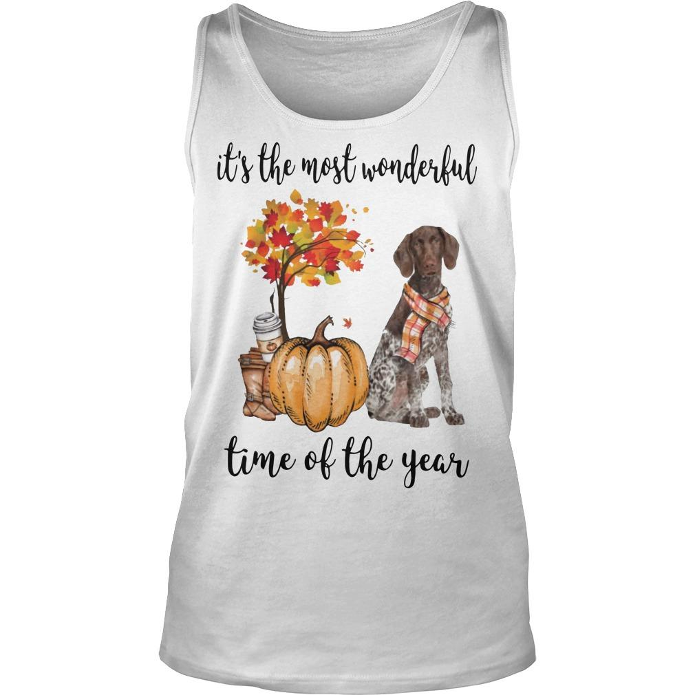 German Shorthaired Pointer It's The Most Wonderful Time Of The Year Tank Top