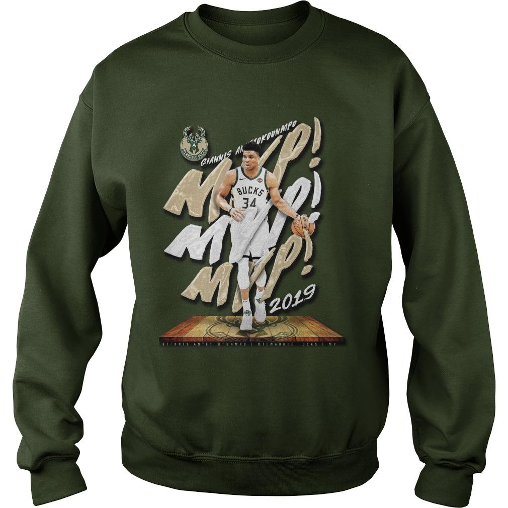 Giannis Antetokounmpo Mvp 2019 Sweater