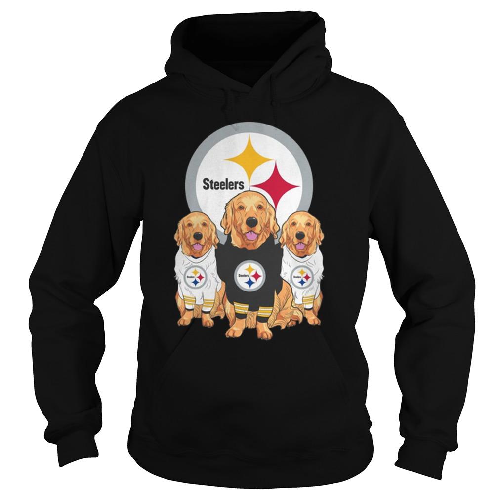 Golden Retriever Pittsburgh Steelers Hoodie
