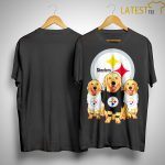 Golden Retriever Pittsburgh Steelers Shirt