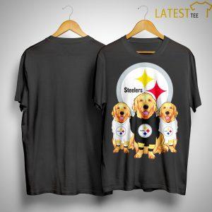 Golden Retriever Pittsburgh Steelers Shirt