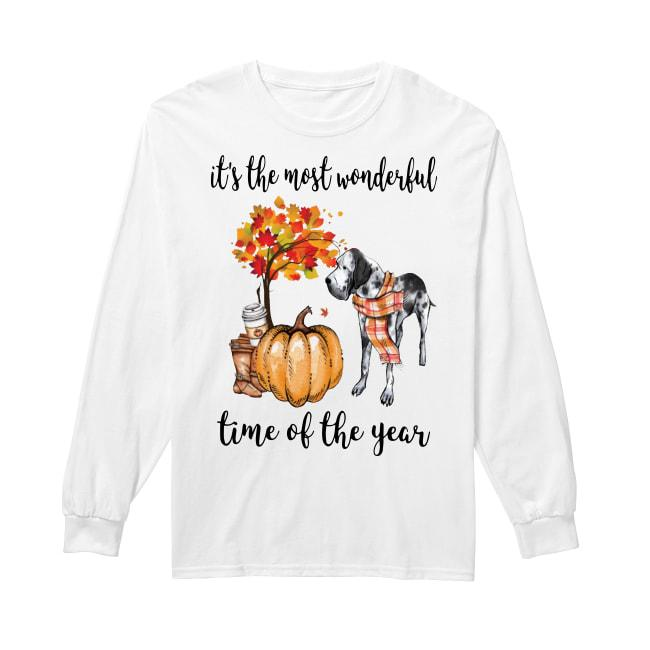 Great Dane It's The Most Wonderful Time Of The Year Longsleeve
