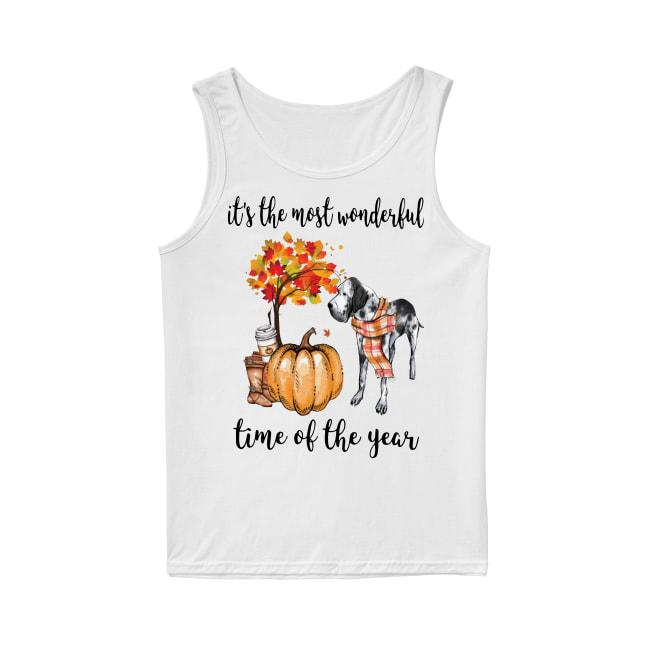 Great Dane It's The Most Wonderful Time Of The Year Tank Top