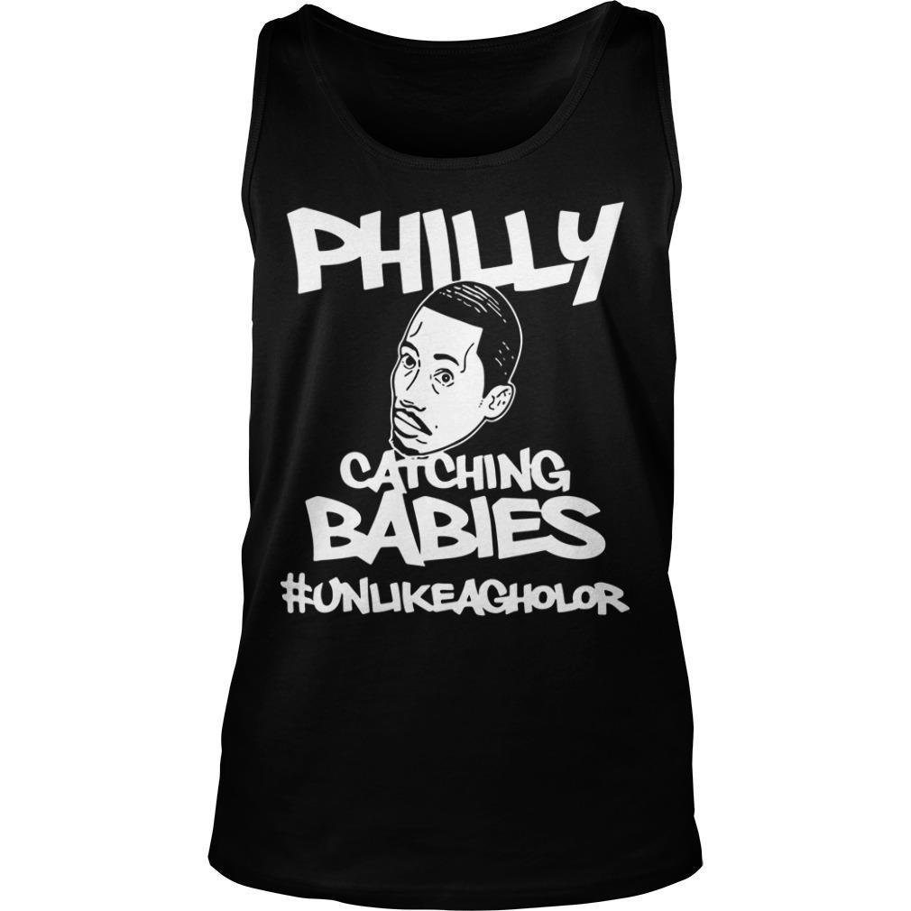 Hakim Laws Philly Catching Babies #unlikeagholor Tank Top
