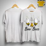 Halloween Camping Fire Ghost Boo Bees Shirt