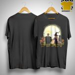 Halloween Dog And Human Jack Adam Tucker Nancy Loki Shirt