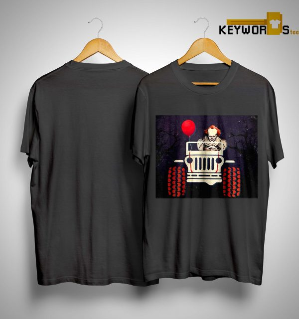 Halloween Jeep It Pennywise Shirt
