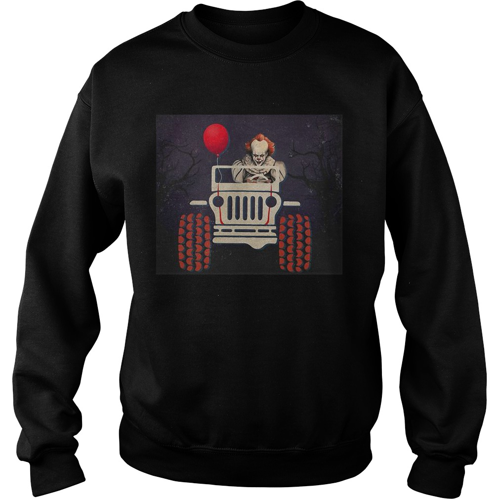 Halloween Jeep It Pennywise Sweater