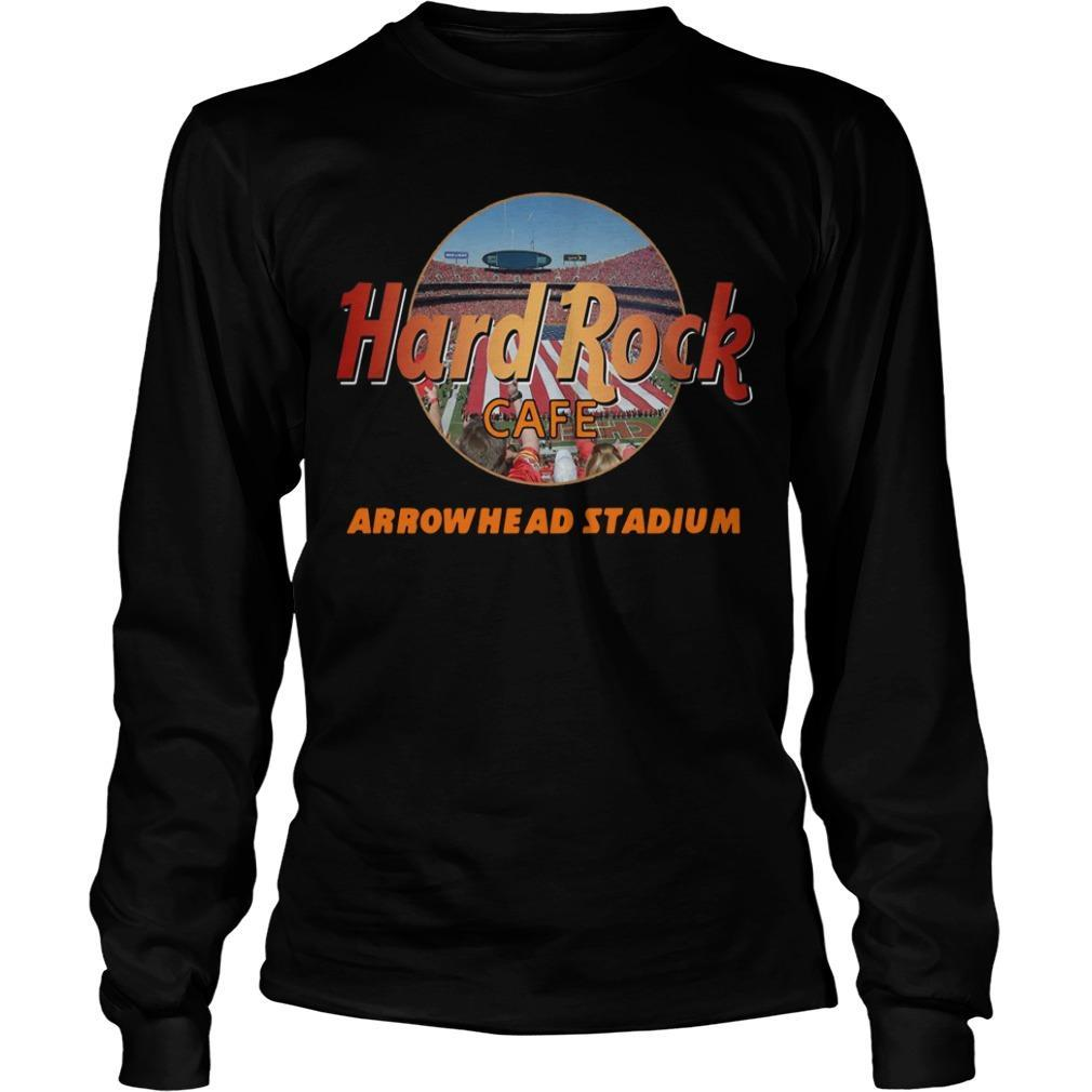 Hard Rock Cafe Arrowhead Stadium Longsleeve