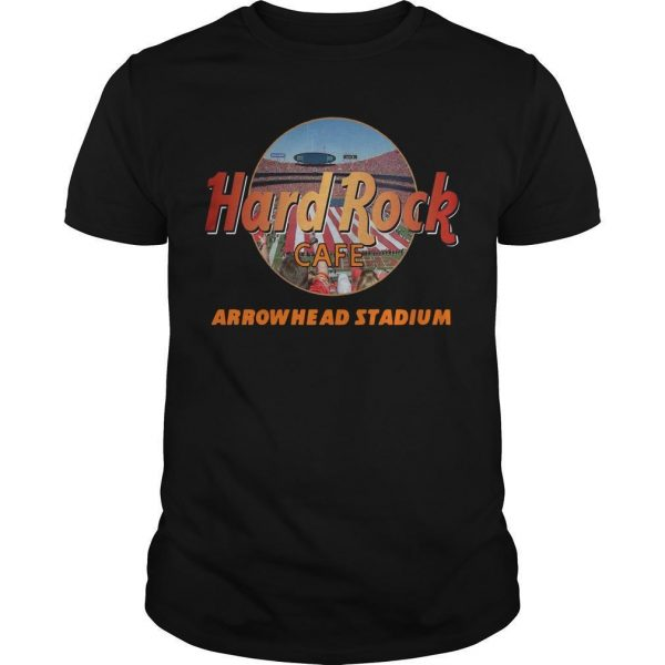 Hard Rock Cafe Arrowhead Stadium Shirt