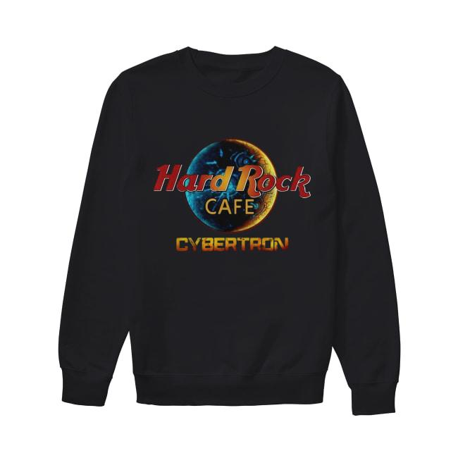 Hard Rock Cafe Cybertron Transformer Sweater