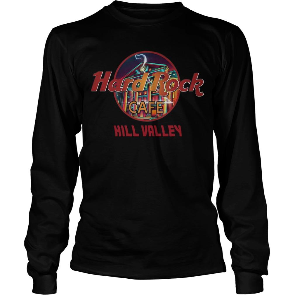 Hard Rock Cafe Hill Valley Longsleeve