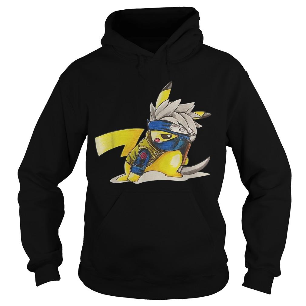 Hatake Kakashi Pikachu Hoodie