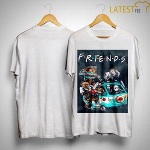 Horror Character Tv Show Friends Scooby Doo Car Shirt