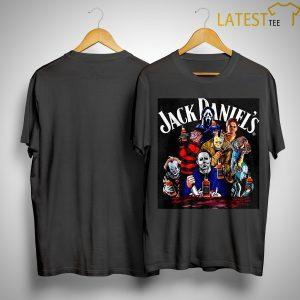 Horror Characters Jack Danniel's Shirt