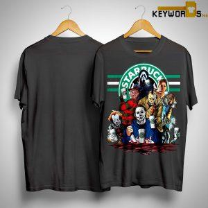 Horror ChHorror Characters Starbucks Shirtaracters Starbucks Shirt