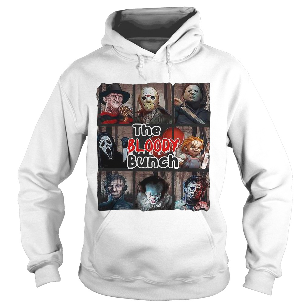 Horror Characters The Bloody Bunch Hoodie