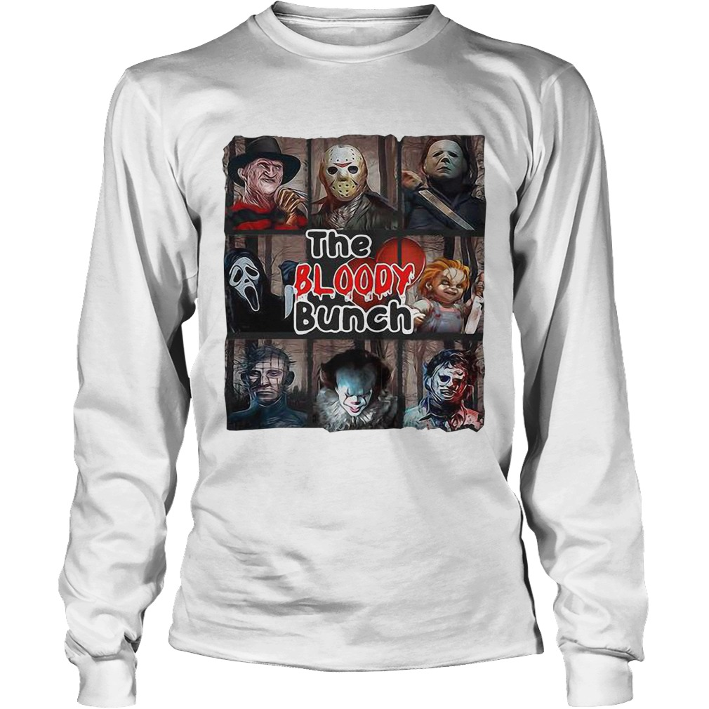 Horror Characters The Bloody Bunch Longsleeve