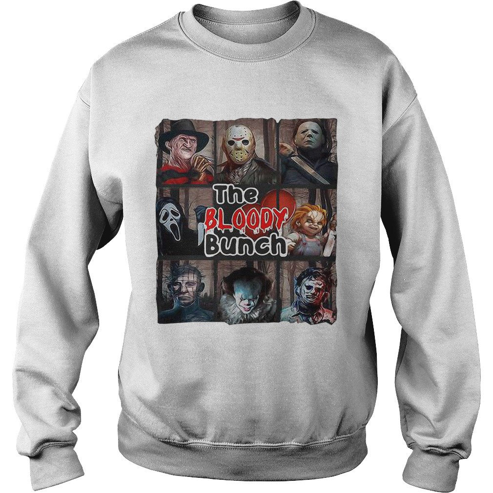 Horror Characters The Bloody Bunch Sweater
