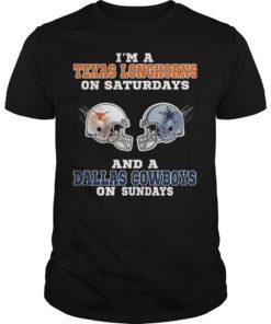I'm A Texas Longhorns On Saturdays And A Dallas Cowboy On Sundays