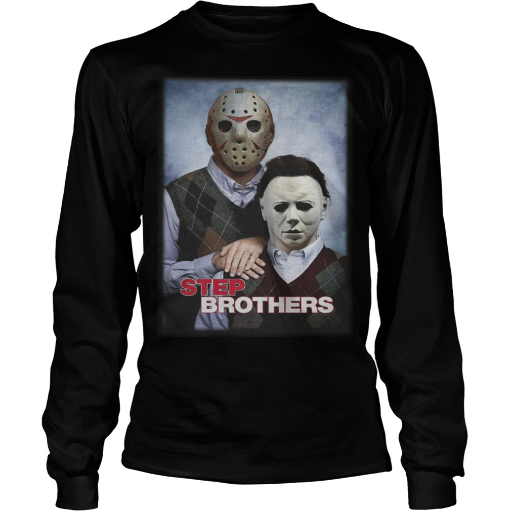 Jackson And Michael Myers Step Brothers Longsleeve