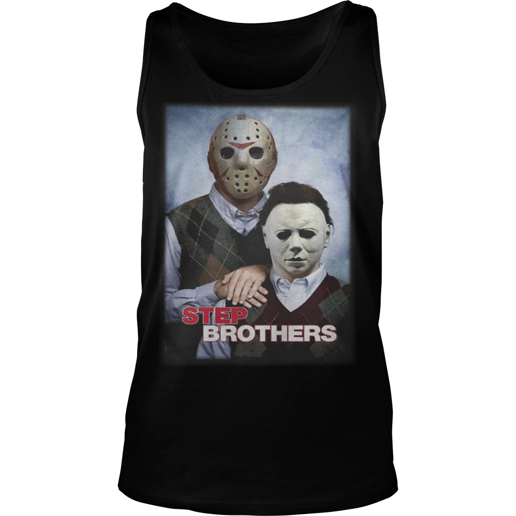 Jackson And Michael Myers Step Brothers Tank Top