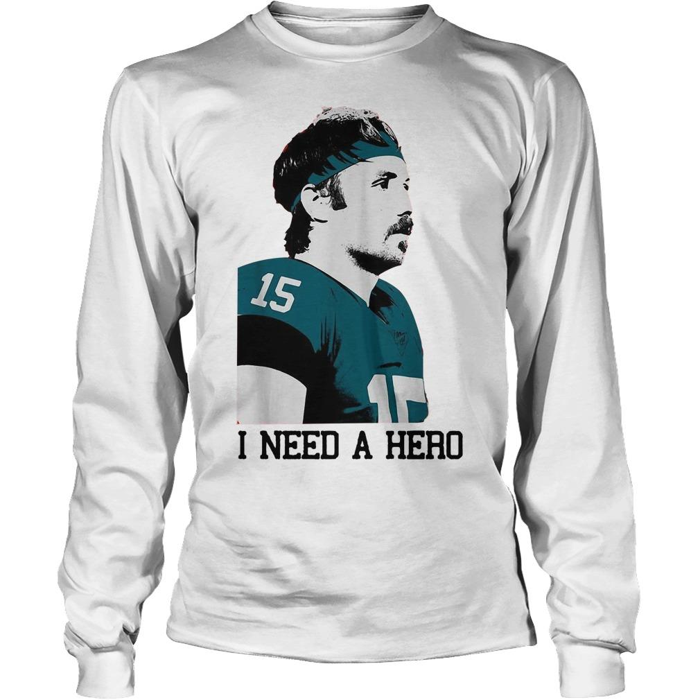 Jacksonville Jaguars I Need A Hero Longsleeve