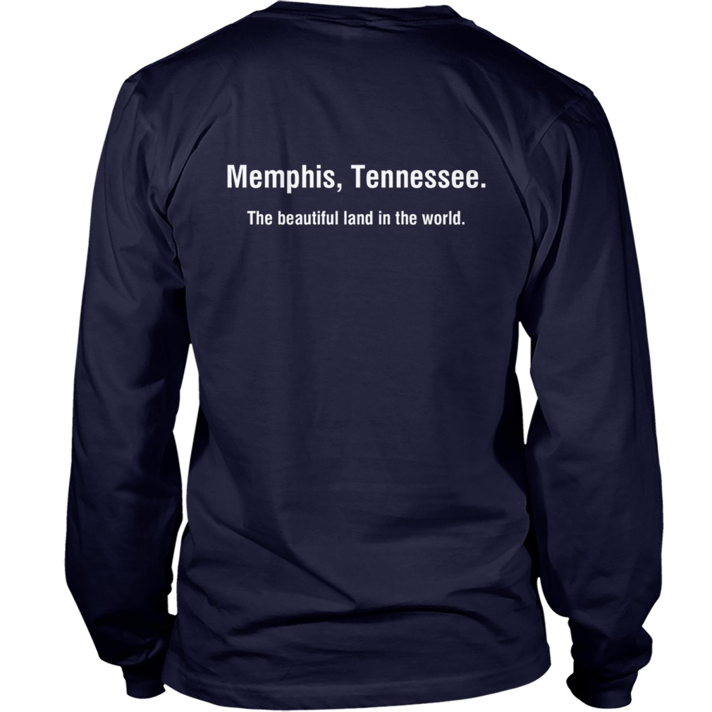 Jessica Benson Memphis Tennessee The Beautiful Land In The World Longsleeve