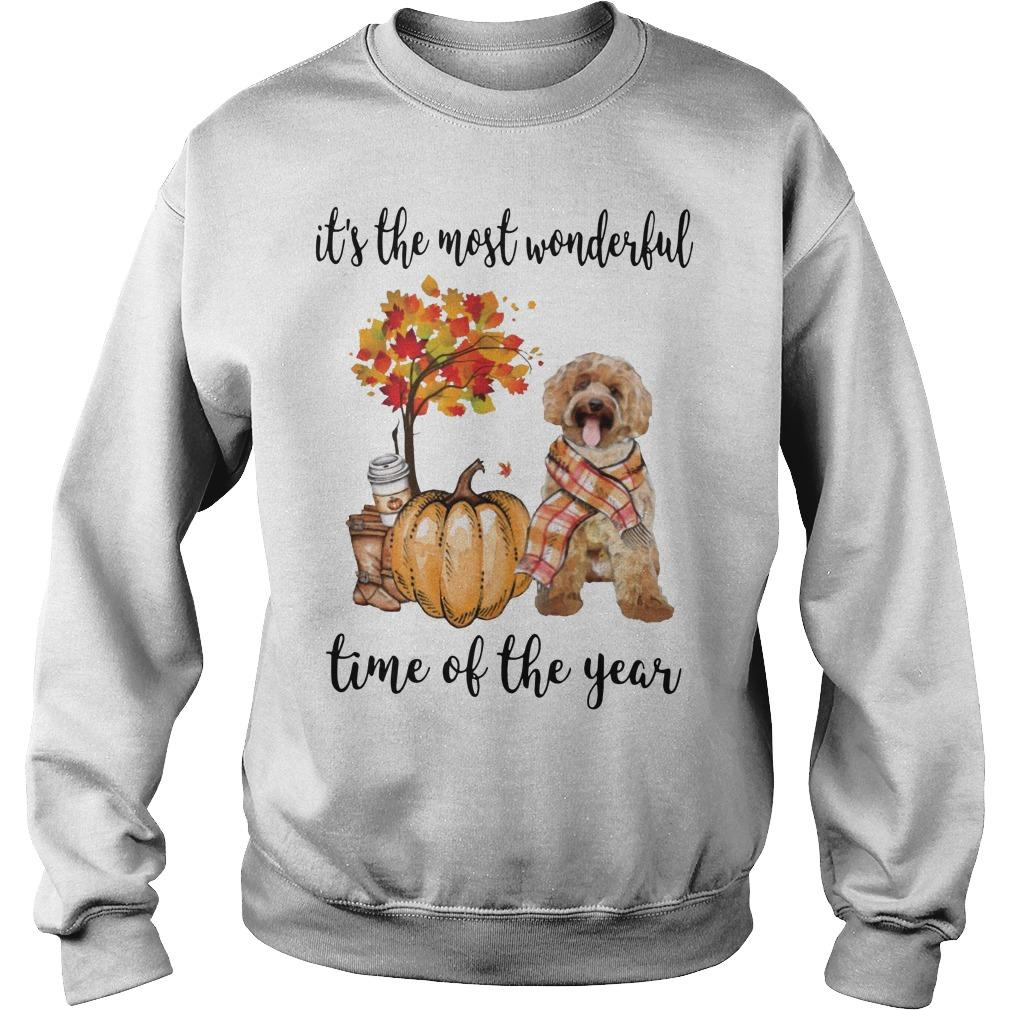 Labradoodle It's The Most Wonderful Time Of The Year Sweater