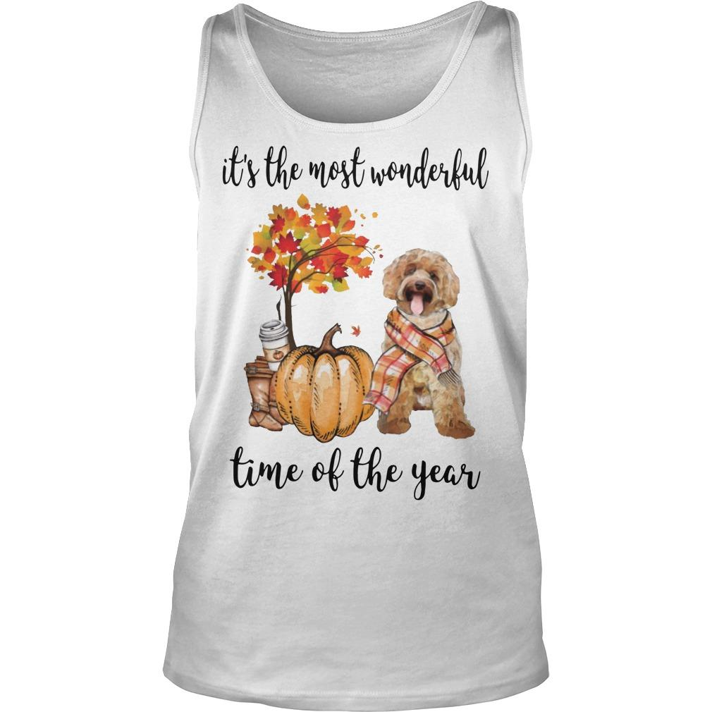 Labradoodle It's The Most Wonderful Time Of The Year Tank Top