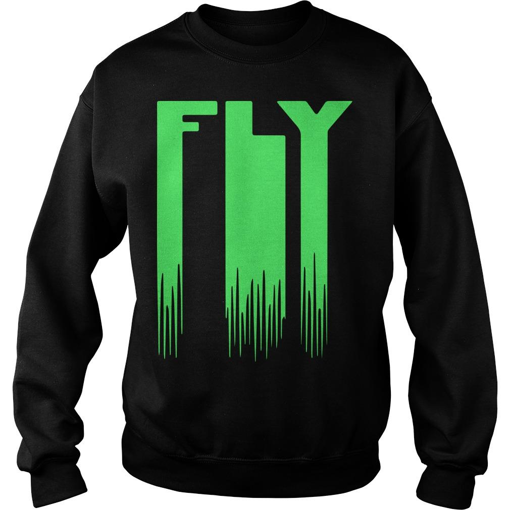 Let's Fly Eagles Fly Sweater