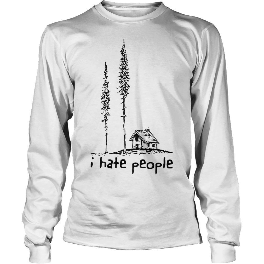 Lonely House I Hate People Longsleeve