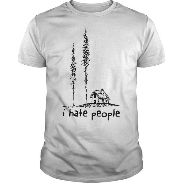 Lonely House I Hate People Shirt