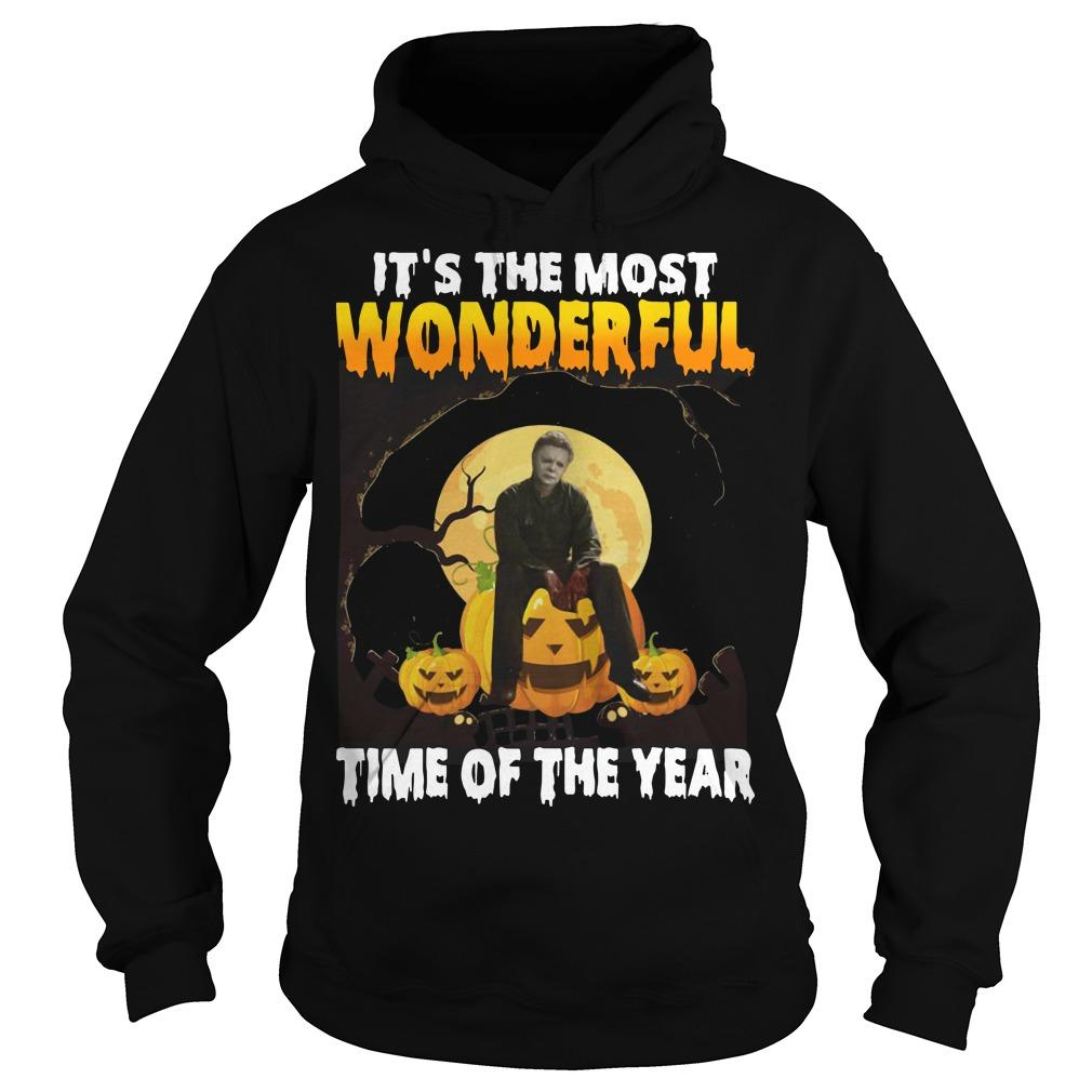 Michael Myers It's The Most Wonderful Time Of The Year Hoodie