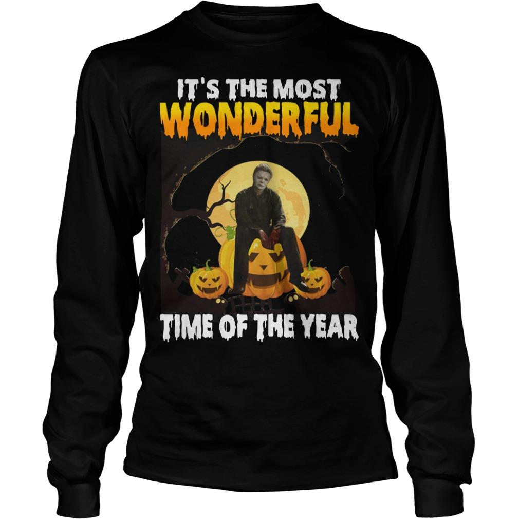 Michael Myers It's The Most Wonderful Time Of The Year Longsleeve