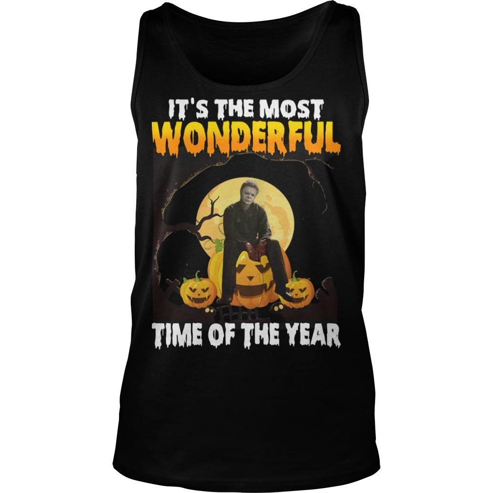 Michael Myers It's The Most Wonderful Time Of The Year Tank Top