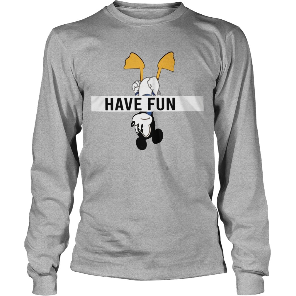 Mickey Donald Have Fun Longsleeve