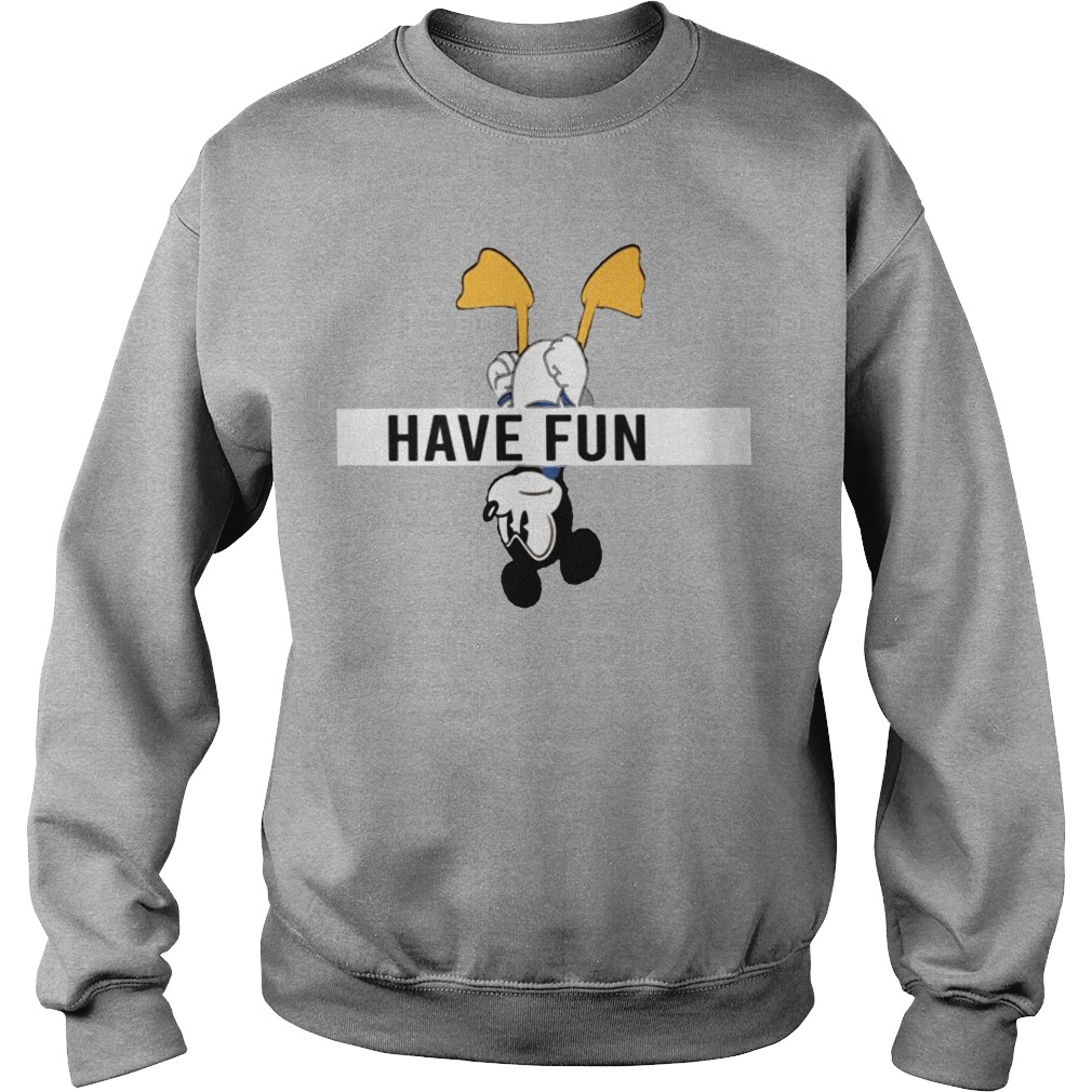 Mickey Donald Have Fun Sweater