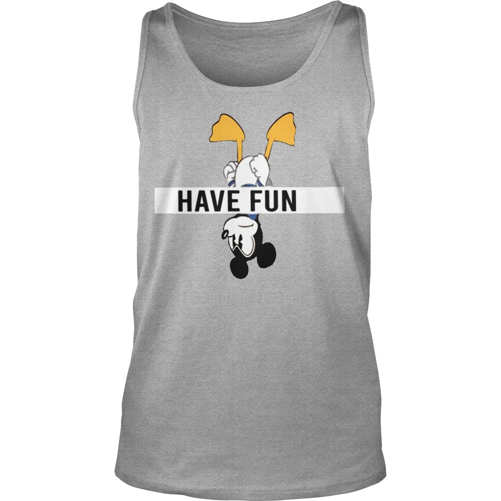 Mickey Donald Have Fun Tank Top