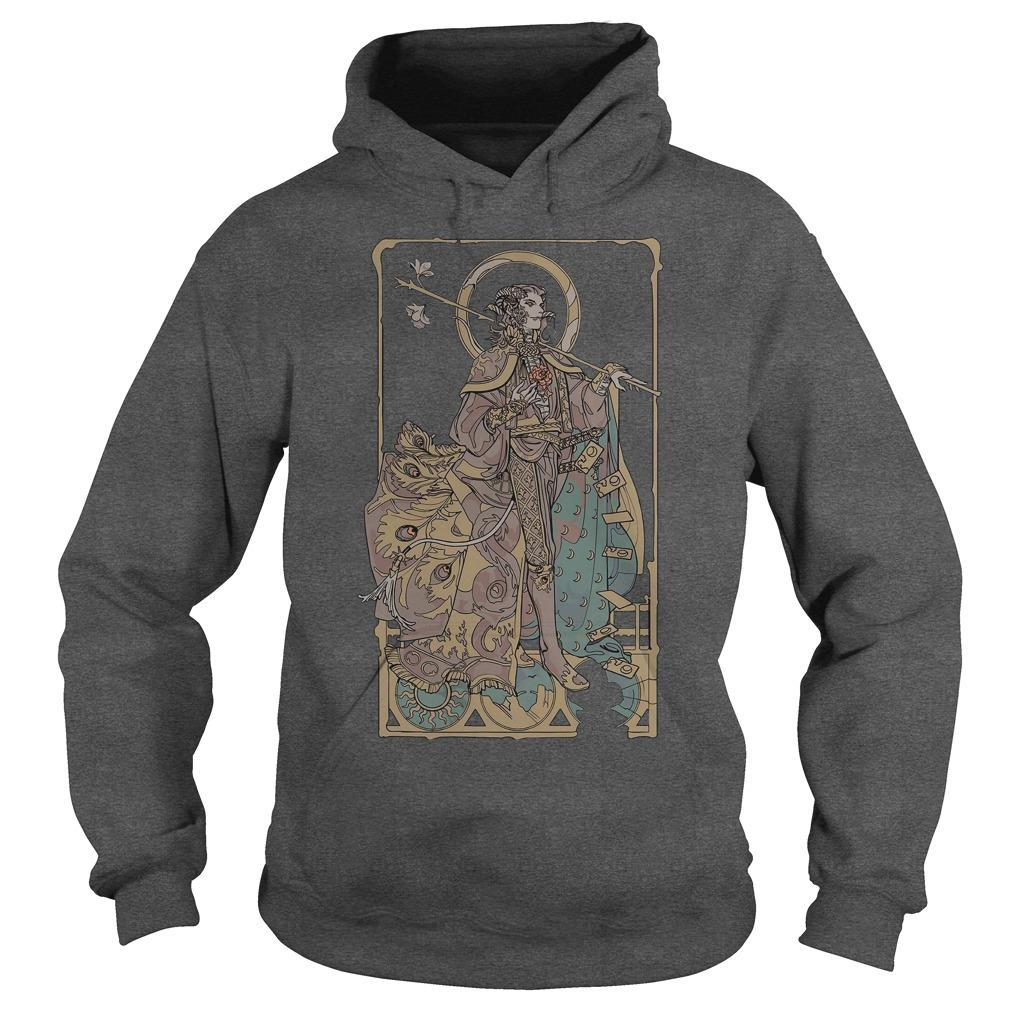 Mollymauk Long May He Reign T Hoodie