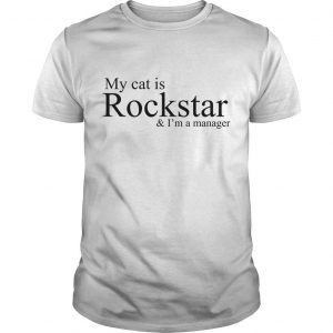 NCT Dream My Cat Is A Rockstar And I'm A Manager Shirt