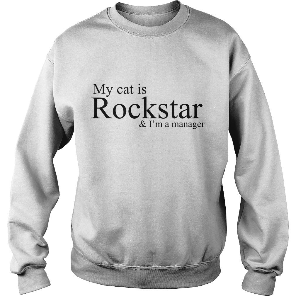 NCT Dream My Cat Is A Rockstar And I'm A Manager Sweater