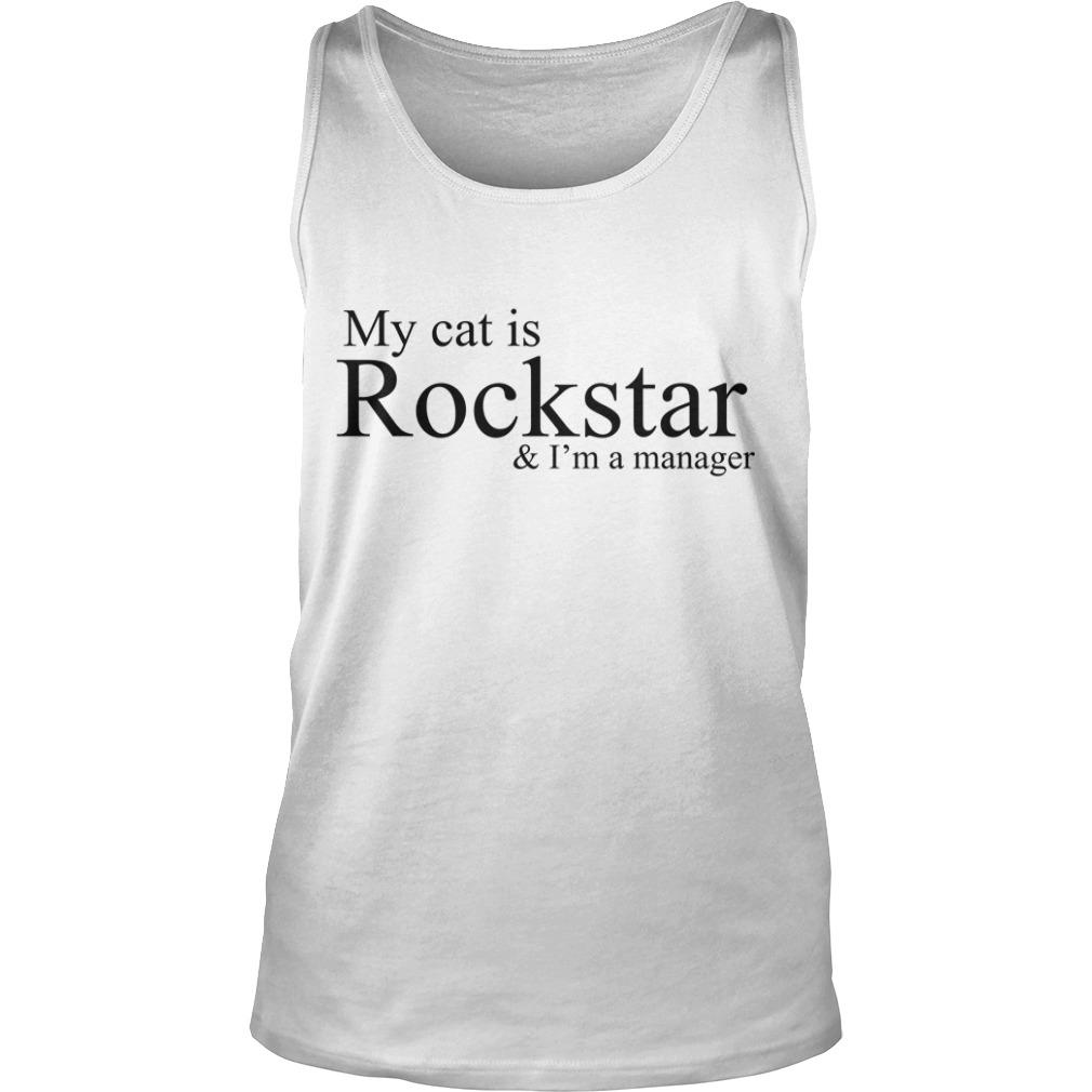 NCT Dream My Cat Is A Rockstar And I'm A Manager Tank Top