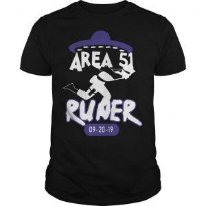Naruto Alien Runner Area 51 Shirt