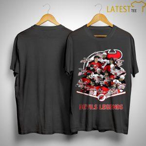 New Jersey Devils Legends Signatures Shirt