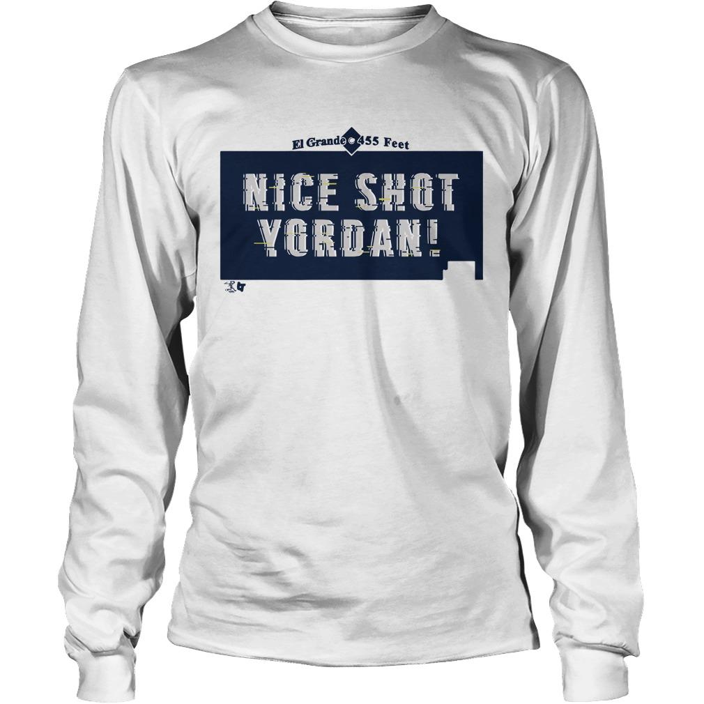 Nice Shot Yordan Alvarez Longsleeve