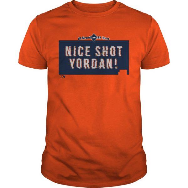 Nice Shot Yordan Alvarez