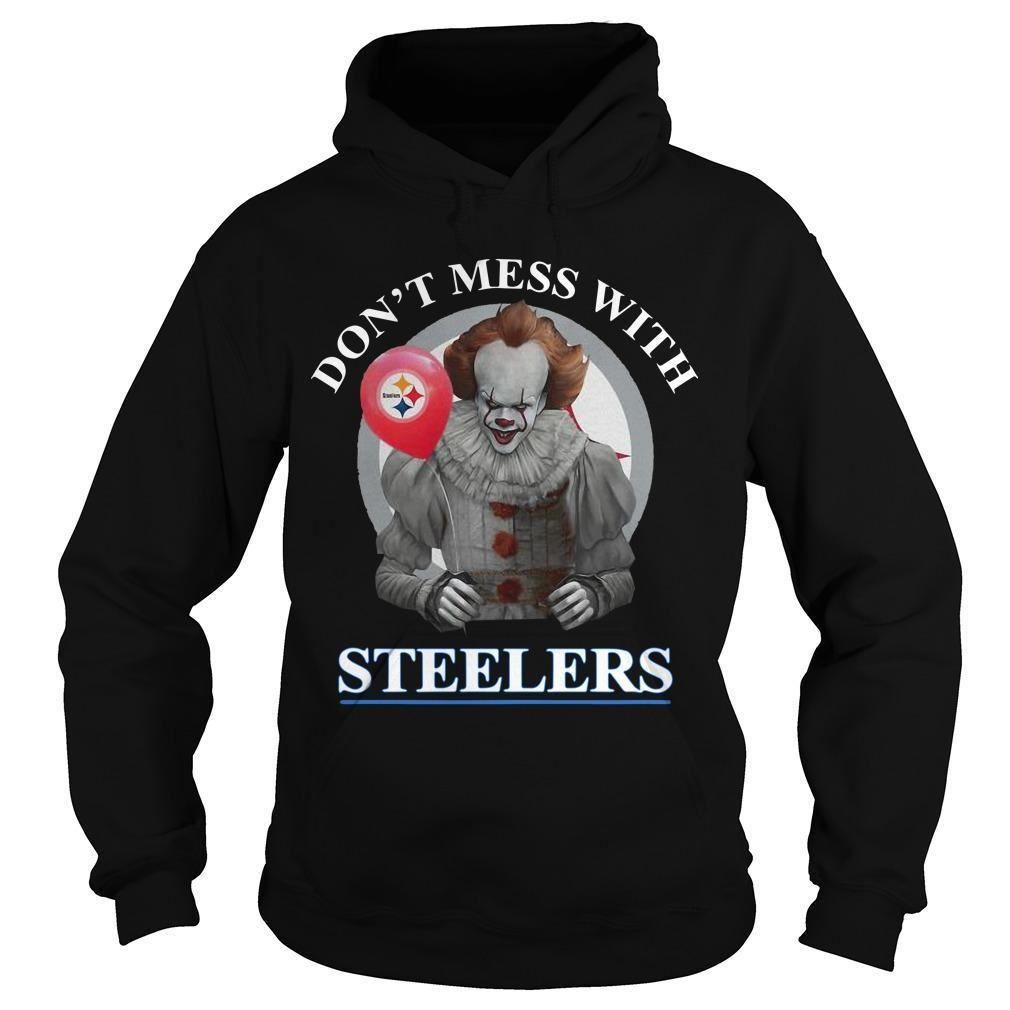 Pennywise Don't Mess With Steelers Hoodie